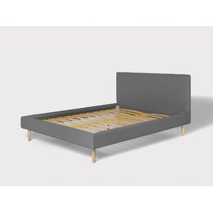 The Tailored Upholstered Bed Frame By Eve