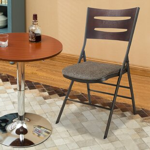 Armless Powder Coated Steel Portable Stacking Chair (Set of 2) by Homebeez