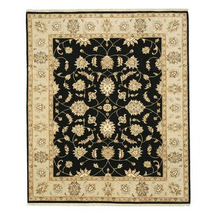 Best Hand-Knotted Black Area Rug By Eastern Rugs