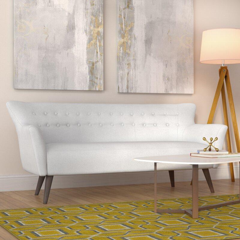 Langley Street Gabrielle Mid-Century Modern Sofa & Reviews | Wayfair