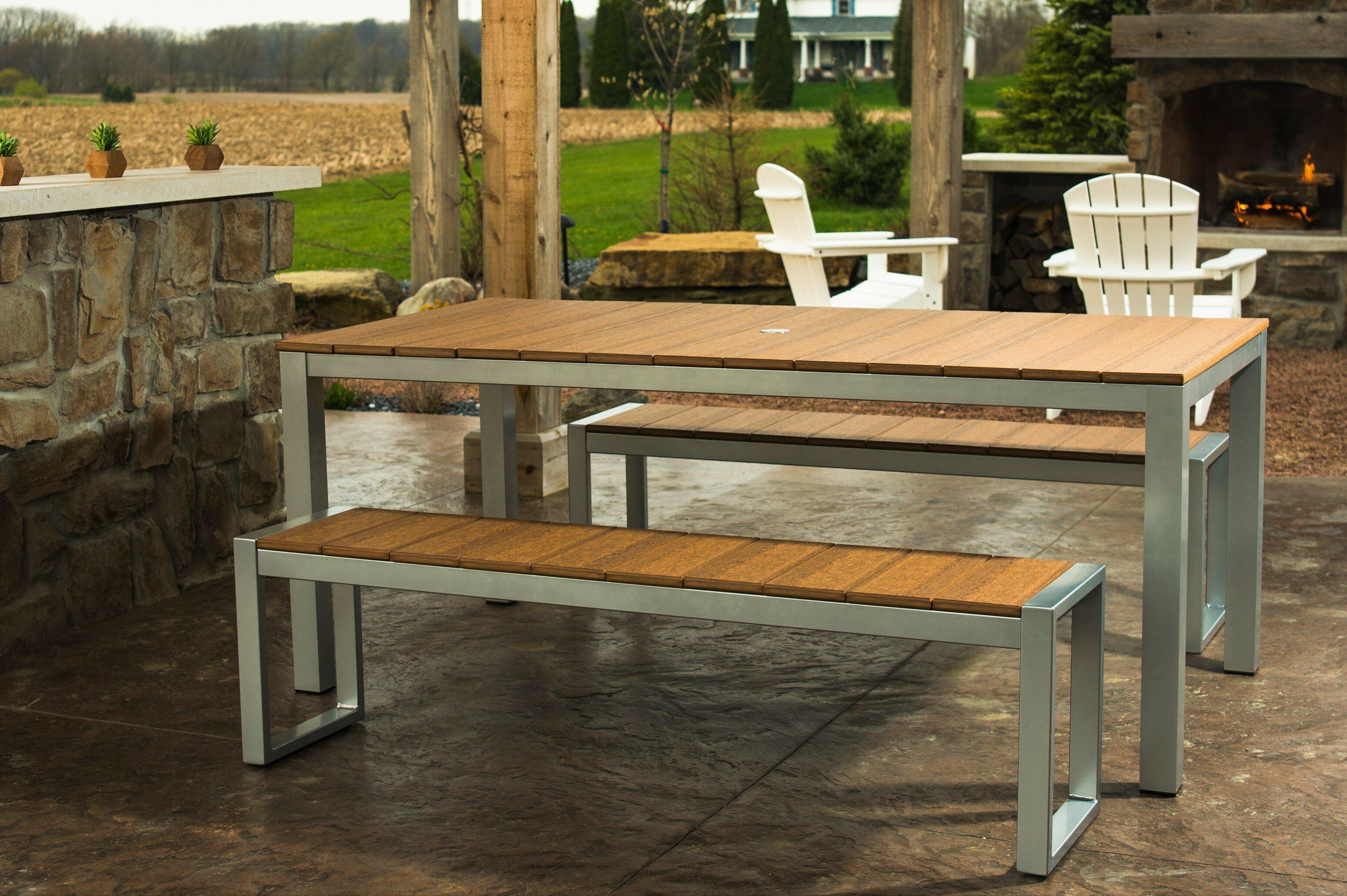 Superb Gavin Modern 3 Piece Dining Set Customarchery Wood Chair Design Ideas Customarcherynet