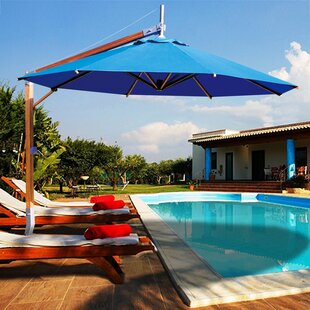 Side Wind Sirocco 8.5' Cantilever Umbrella by Bambrella