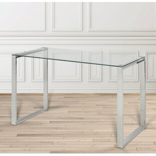 Brock Glass Writing Desk