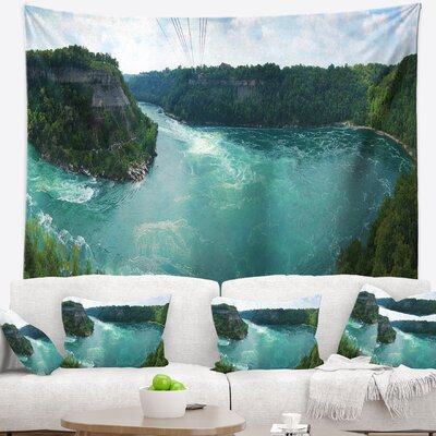 Landscape Photography Whirlpool Rapids Tapestry East Urban Home