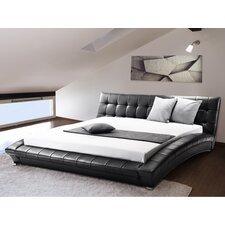 Sarai King Upholstered Platform Bed by Wade Logan