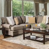 Fargo Symmetrical Sectional by Darby Home Co