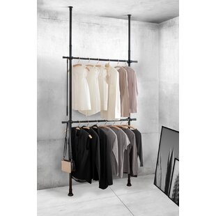 Mehara 120cm Wide Clothes Rack By Rebrilliant