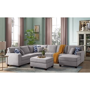 Mequon Modular Sectional with Ottoman by Latitude Run