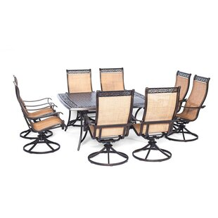 Darby Home Co Barras 9 Piece Square Dining Set