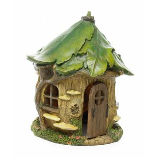 Woodland Knoll Fairy Forest House Statue by Marshall Home Garden