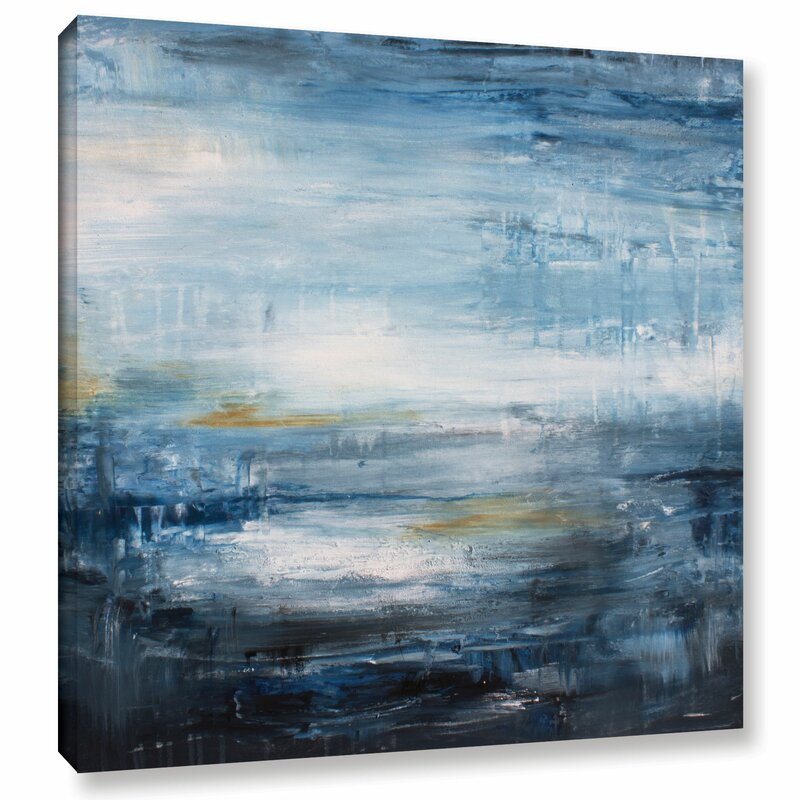 Brayden Studio Tundra Ii Painting Print On Wrapped Canvas Wayfair