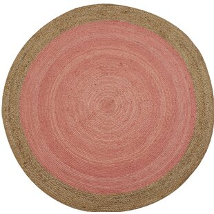Evan Hand Braided Pink Rug by Longweave