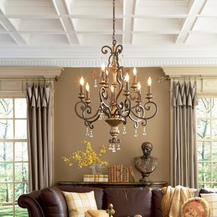Astoria Grand Windsor Rise 9-Light Chandelier