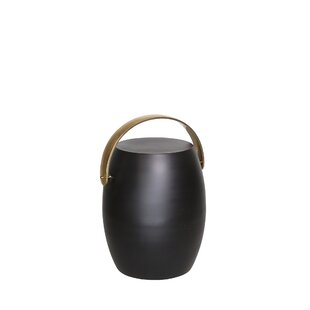 Anastagio Drum End Table By Ivy Bronx