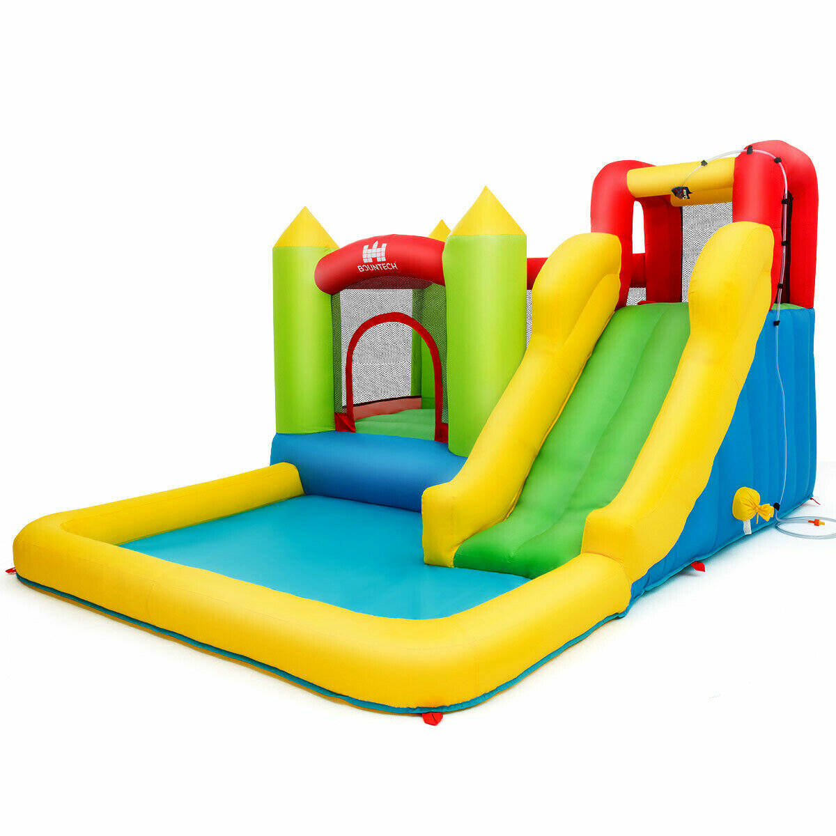 Picture of: Costway 9 2 X 11 5 Bounce House With Water Slide Reviews