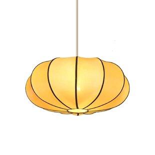 Emissary Home and Garden Pumpkin 1-Light Novelty Pendant