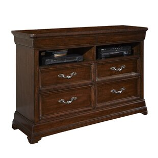 American Woodcrafters Signature 4 Drawer Media Chest