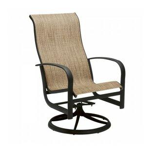 Woodard Fremont Swivel Patio Dining Chair