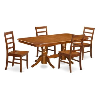 Pillsbury 5 Piece Dining Set August Grove