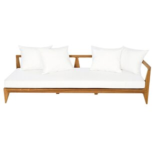 Limited Teak Right Corner Patio Sectional with Cushion by OASIQ