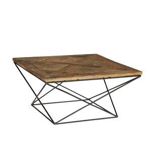 Torcere Reclaimed Elm Wood Coffee Table