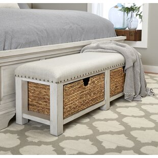 Trisha Yearwood Home Homestead Upholstered Storage Bench by Trisha Yearwood Home Collection