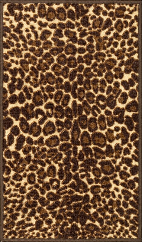 Well woven kings court gold leopard print area rug reviews wayfair kings court gold leopard print area rug thecheapjerseys Choice Image