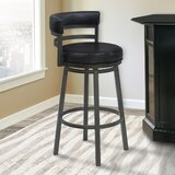 Kenedy Swivel Bar & Counter Stool by Orren Ellis