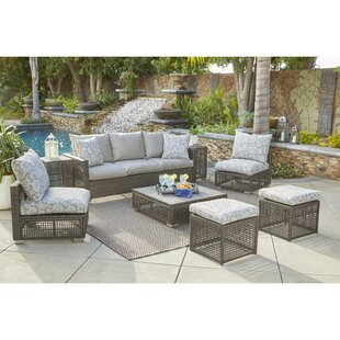 Sarver 8 Piece Sofa Set with Cushions