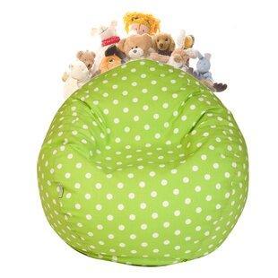 Stuffed Animal Toy Storage Bean Bag Chair ByHarriet Bee
