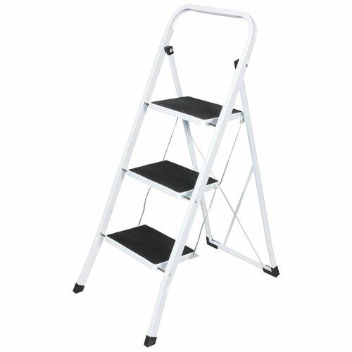 1|05 m Trittleiter aus Stahl Alwyn Home | Baumarkt > Leitern und Treppen | Alwyn Home