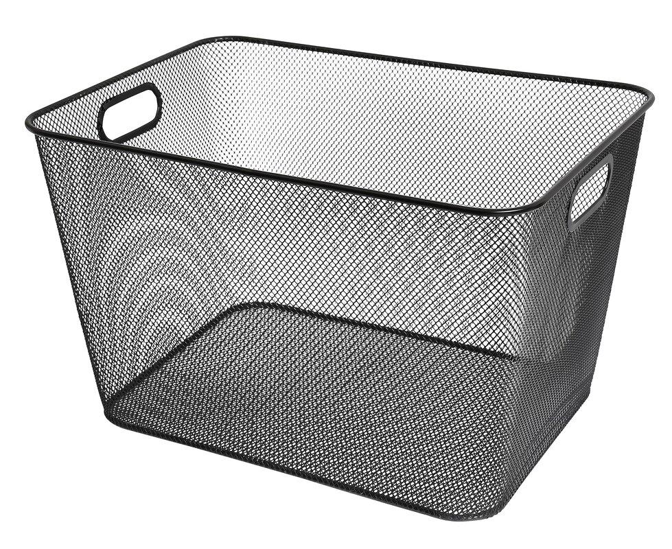 Delightful Mesh Open Bin Storage Basket