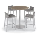 Saleem 5 Piece Bar Height Dining Set