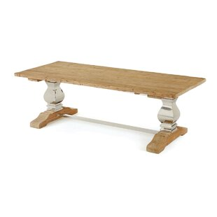 Maniteau Solid Wood Dining Table Laurel Foundry Modern Farmhouse