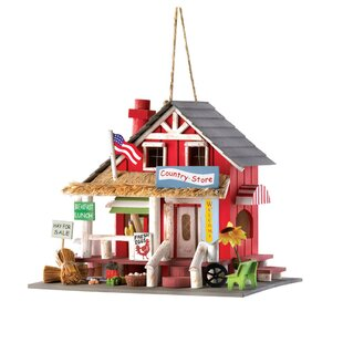 Zingz & Thingz Down Home General Store 9 in x 7 in x 10.5 in Birdhouse