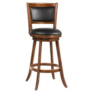 Jackman 29 Swivel Bar Stool (Set of 2) Wildon Home®