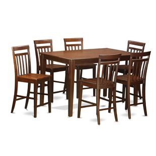 Araminta 7 Piece Counter Height Pub Table Set Alcott Hill