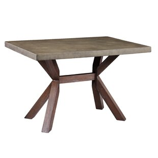 Loon Peak Astle Indoor/Outdoor Concrete Dining Table
