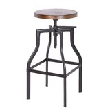 Sutton Swivel Metal Adjustable Height Bar Stool by Williston Forge