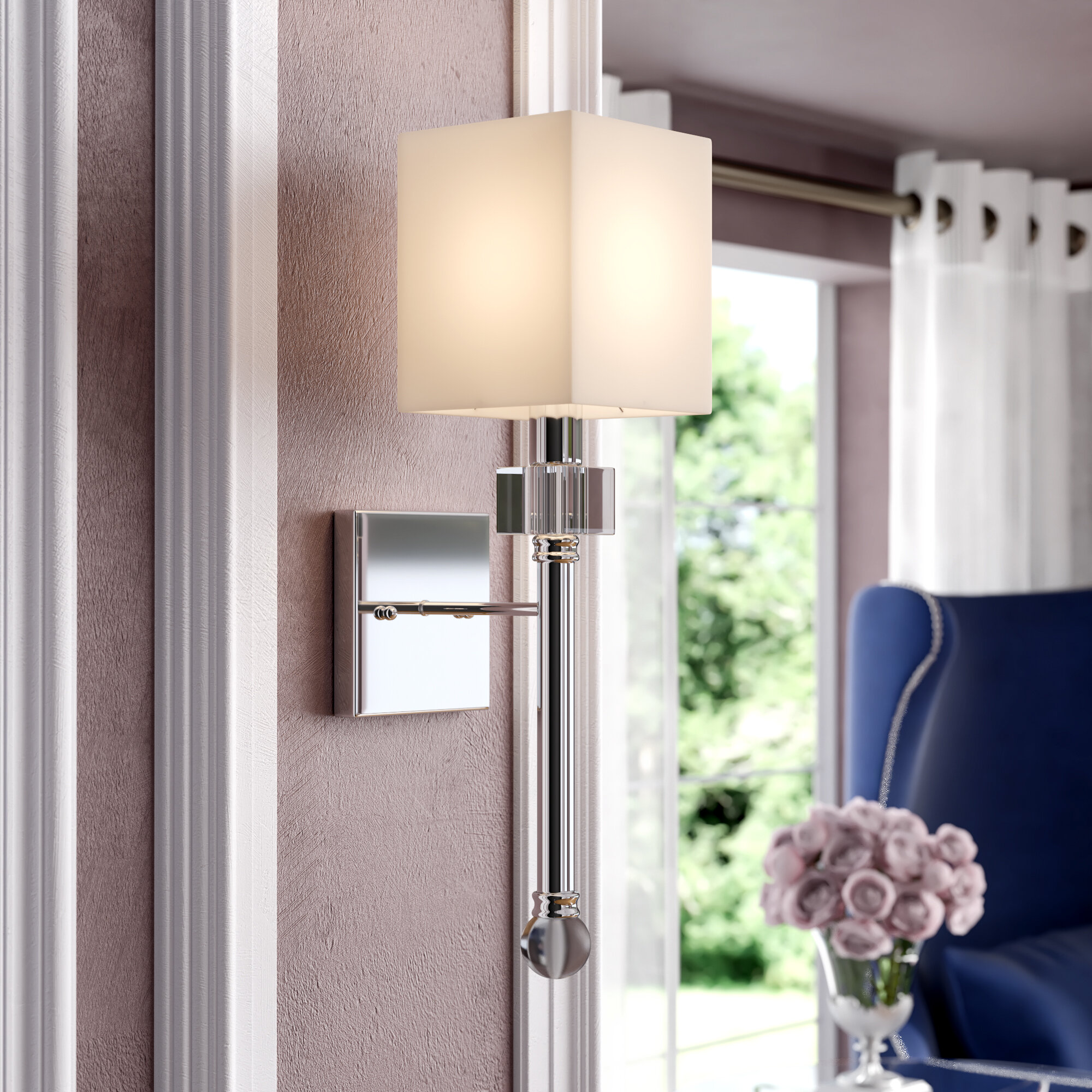 Crystal Wall Sconces You Ll Love In 2020 Wayfair