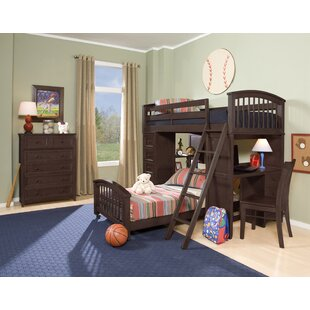 Nickelsville Twin Loft Bed with Storage