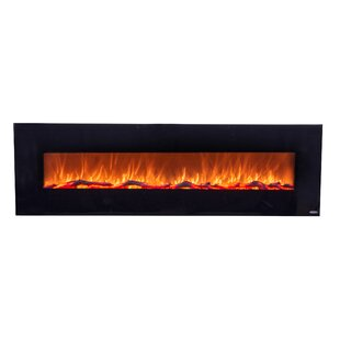 OnyxXL Wall Mounted Electric Fireplace by Touchstone