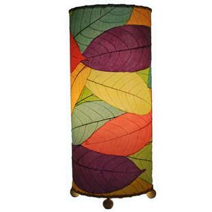 Cocoa Leaf 16.5 Table Lamp