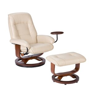 Gibsonburg Ergonomic Manual Swivel Recliner with Ottoman  sc 1 st  AllModern & Modern Recliners - Find the Perfect Recliner Chair | AllModern islam-shia.org