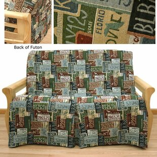 Road Trip Box Cushion Futon Slipcover by Easy Fit