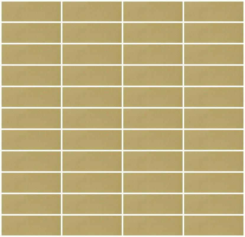Architect S 1 X 3 Mirrored Gl Subway Tile In Gold