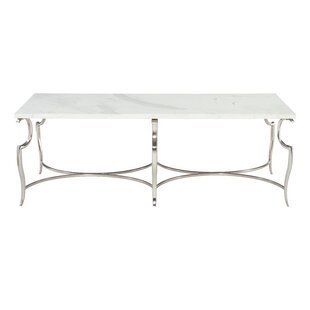 Bernhardt Savoy Place Metal Coffee Table