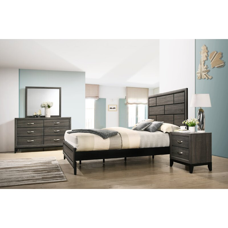 Wrought Studio Macy Standard 4 Piece Bedroom Set & Reviews | Wayfair