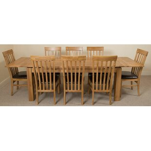 Uinta Dining Set With 10 Chairs By Red Barrel Studio