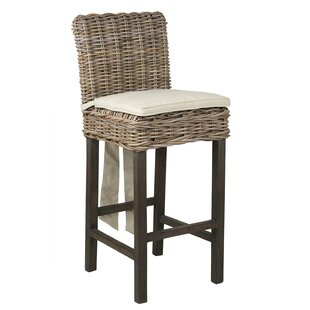 Vitiello 32 Patio Bar Stool By Highland Dunes